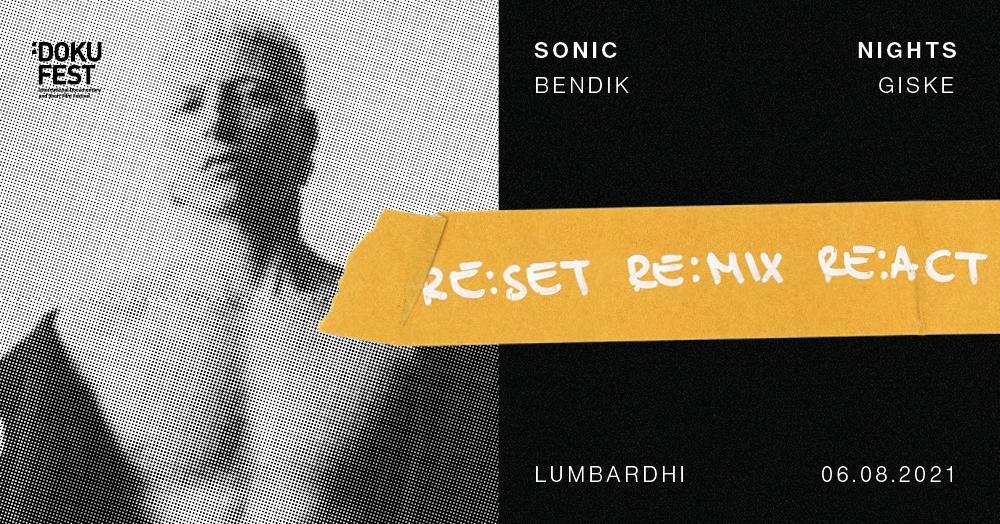 BENDIK GISKE WITH HIS SAXOPHONE @SONIC NIGHTS