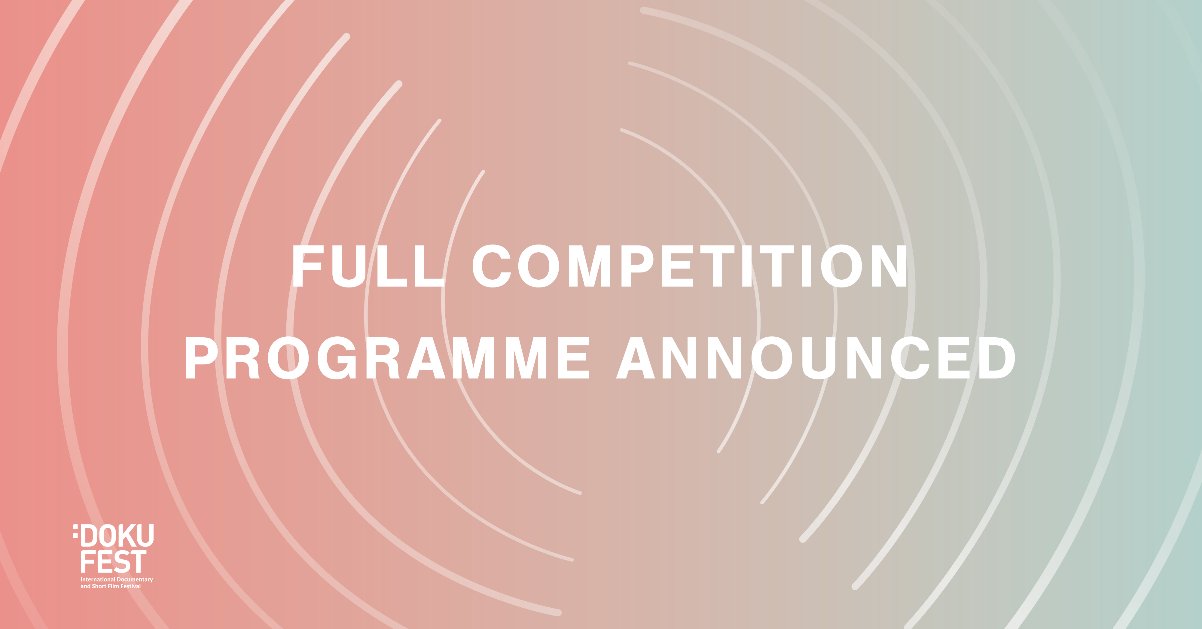 COMPETITIONS ANNOUNCED!