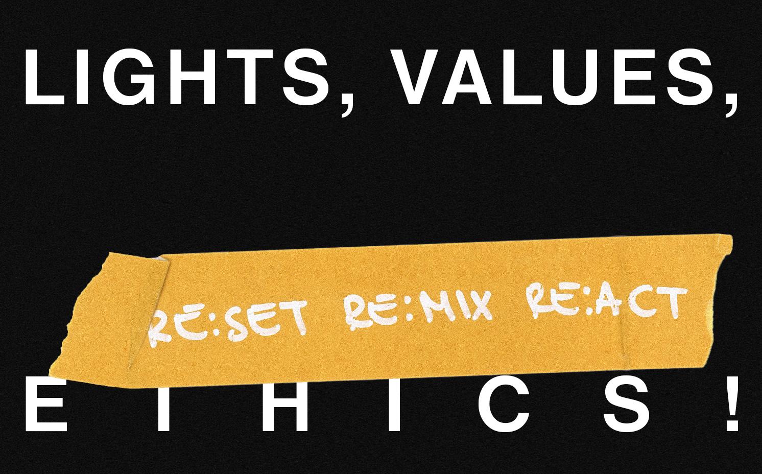 LIGHTS, VALUES, ETHICS! A PUBLIC TALK BY EZRA WINTON