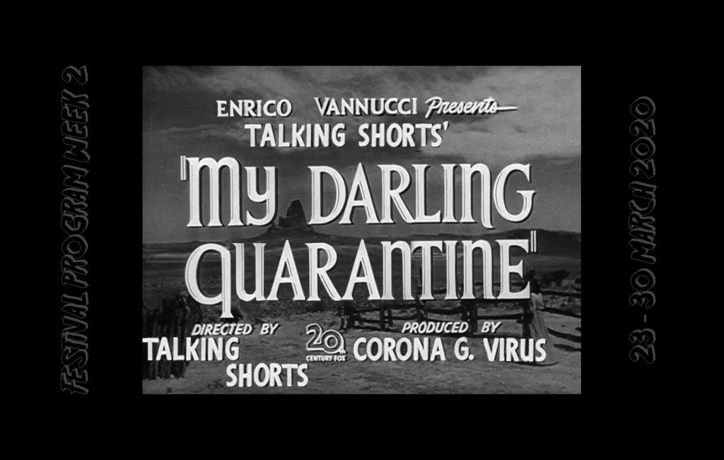 My Darling Quarantine SFF - Week Two