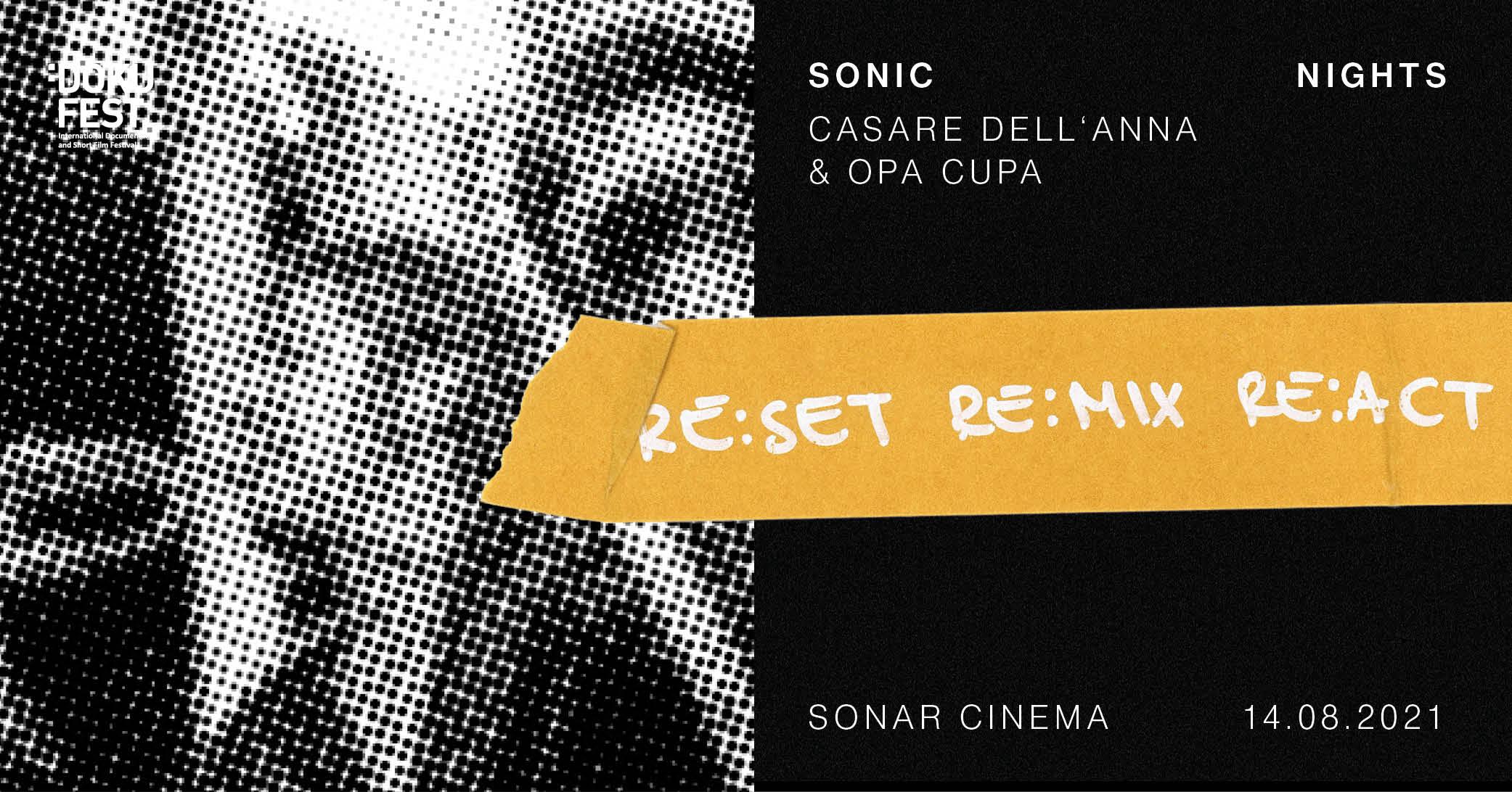 CESARE DELL'ANNA & OPA CUPA @SONIC NIGHTS